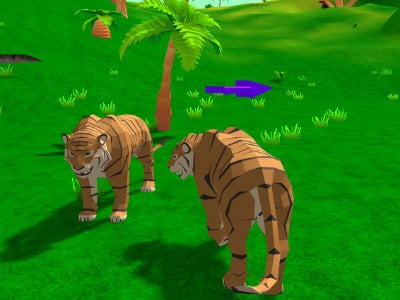 Tiger Simulator 3D oнлайн-игра