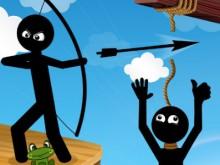 Bow Master Stickman Hero online game