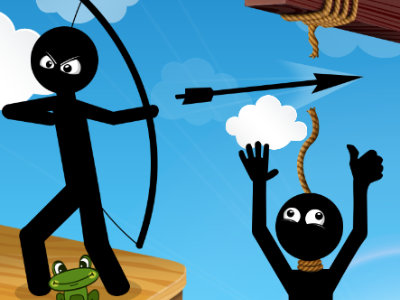 Bow Master Stickman Hero online game