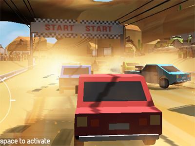 Pixel Rally 3D online game