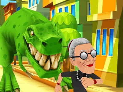 Angry Gran Run Brazil online hra