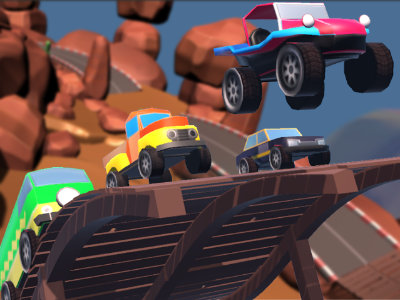 Mini Car Racing online hra