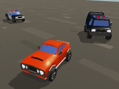 Car vs Police online game
