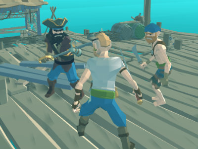 War of Caribbean Pirates online hra