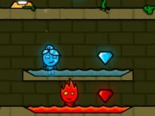 Fireboy and Watergirl Forest Temple online game