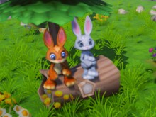 Bunny Adventures 3D online game