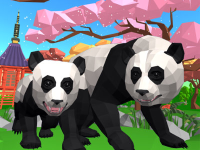 Panda Simulator 3D online game