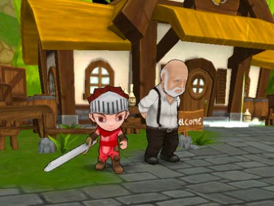 Delsaran World RPG online game