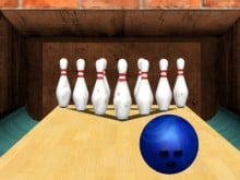 3D Bowling online hra