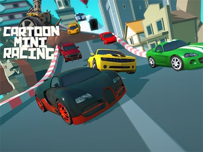 Cartoon Mini Racing online hra