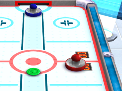 3D Air Hockey online game