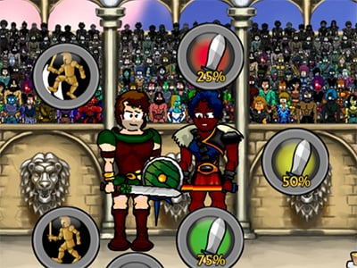Swords and Sandals: Champion Sprint online hra