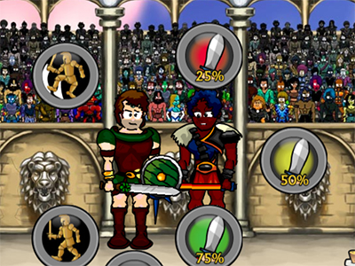 Swords and Sandals: Champion Sprint online game