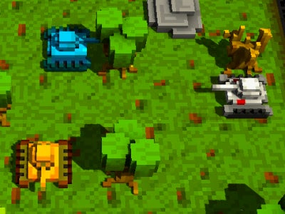 Voxel Tanks 3D online hra
