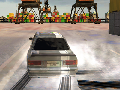 Burnout Drift 3: Seaport Max online hra