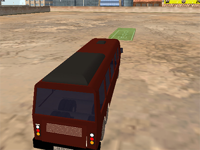 Extreme Bus Parking 3D online hra