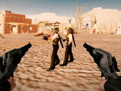 Gunslinger: Wild Western Wolf online hra