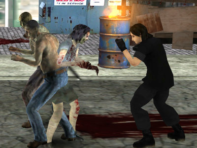 Final Night Zombie Street Fight  online hra