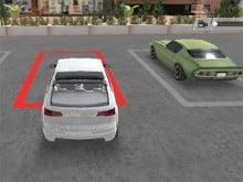 Real Car Parking 3D online hra