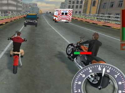 Bike Riders 3: Road Rage online hra