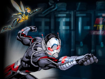 Ant-Man and The Wasp: Attack of the Robots oнлайн-игра