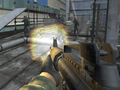 Roof Shootout online game