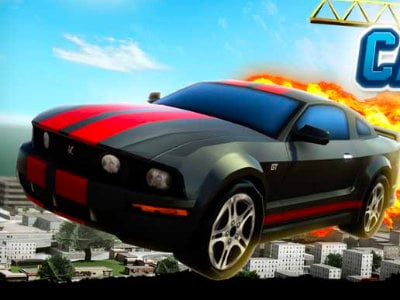 Burnin Rubber Cartapult online game