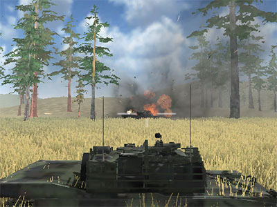 Tanks Battleground online game