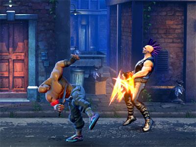 Steel Fists online hra