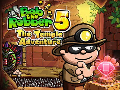 Bob The Robber 5 Temple Adventure online hra