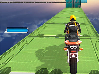 Impossible Bike Stunt 3D online hra