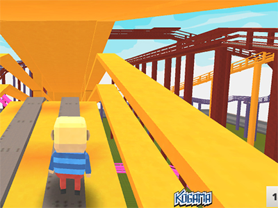 Kogama: RollerCoaster World online game
