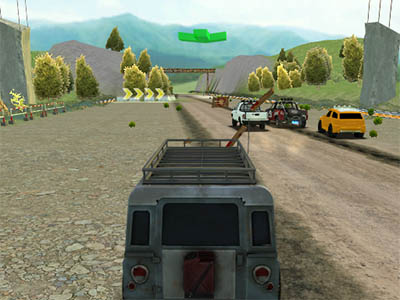 Xtreme Offroad Car Racing 4x4 online game