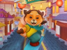 Red Panda Surfer online hra