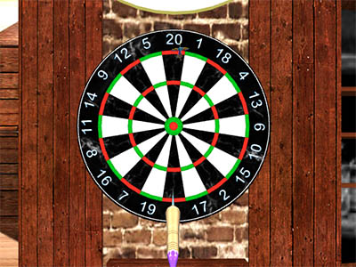 3D Darts online game