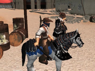 Bandits Multiplayer PVP online game