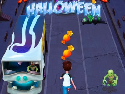 Subway Surf Halloween online game