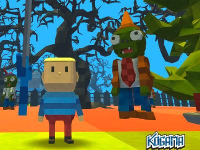 Kogama: PlantsVsZombie online hra