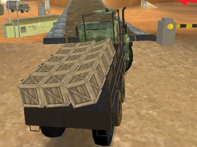 Army Cargo Driver 2  online game