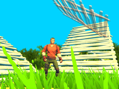 Fort Building Simulator online game