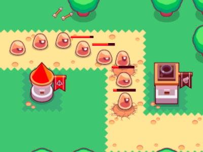 Slime Rush TD online hra