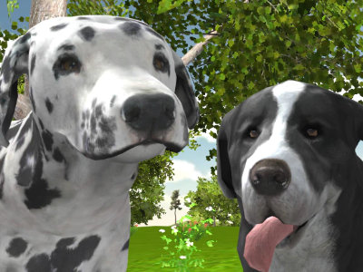 Dog Simulator 3D online hra