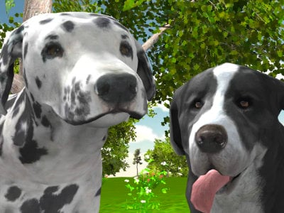Dog Simulator 3D online game