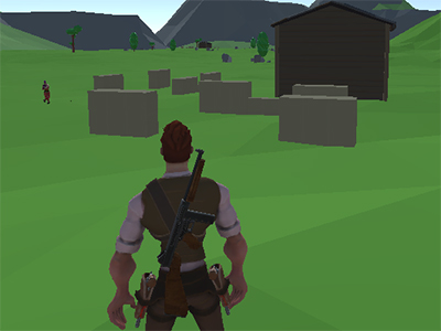 Battle Royale Survival online game