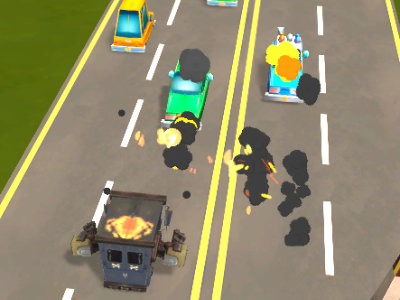 Car Mayhem online hra