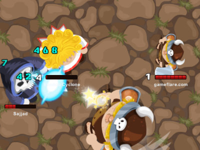 MiniGiants.io online game