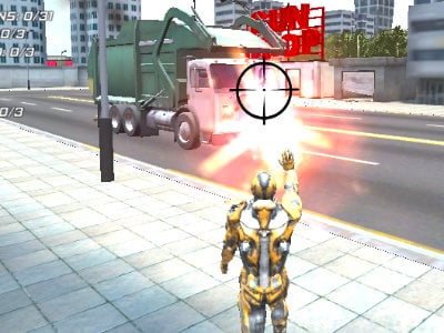 Super Crime Steel War Hero online hra