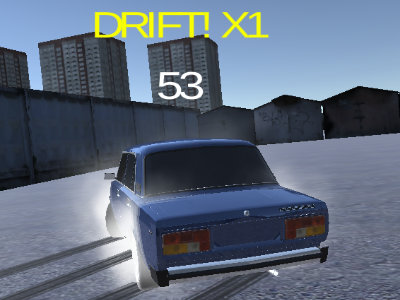 Lada Russian Car Drift online game