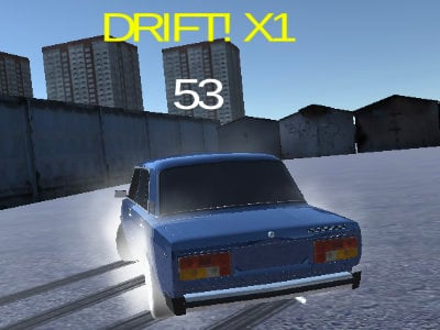 Lada Russian Car Drift online hra