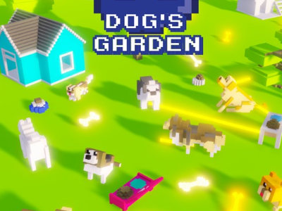 Dog's Garden online game